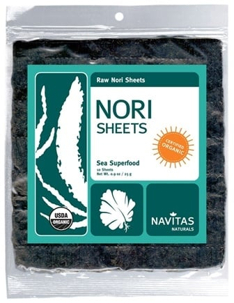 DROPPED: Navitas Naturals - Raw Nori Sheets - 10 Sheet(s) CLEARANCE PRICED