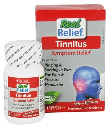 Homeolab USA - Tinnitus Relief - 90 Chewable Tablets