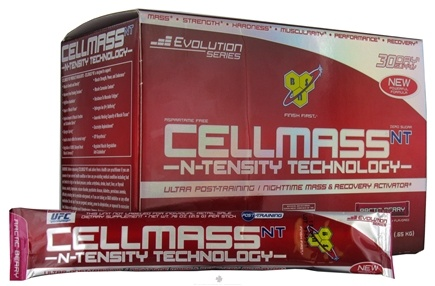 DROPPED: BSN - Cellmass NT N-Tensity Ultra Post Training & Recovery Activator 30 Stick Packs Artic Berry - 22.8 oz. CLEARANCE PRICED