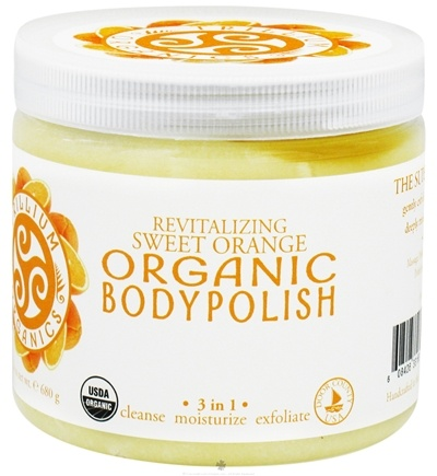 DROPPED: Trillium Organics - Organic Body Polish Sweet Orange - 24 oz. CLEARANCE PRICED