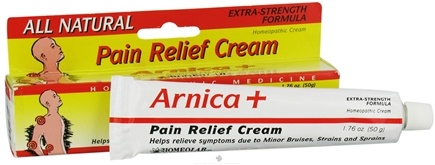 DROPPED: Homeolab USA - Arnica+ Pain Relief Cream All Natural Extra Strength Formula - 1.76 oz.