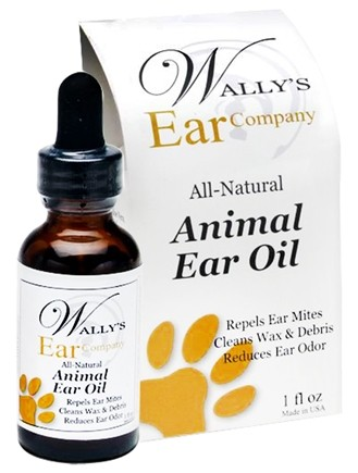 DROPPED: Wally's Natural Products - Ear Oil for Animals - 1 oz.