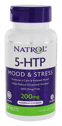 Natrol - 5-HTP TR Time Release 200 mg. - 30 Tablets
