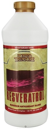 DROPPED: Buried Treasure Products - Resveratrol Superior Antioxidant Blend - 32 oz.