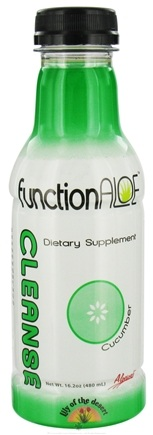 DROPPED: Lily Of The Desert - Function Aloe Cleanse RTD Cucumber - 16.2 oz.