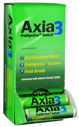 DROPPED: Axia3 - ProDigestive Antacid - Fast Heartburn Relief - 30 Chewable Tablets