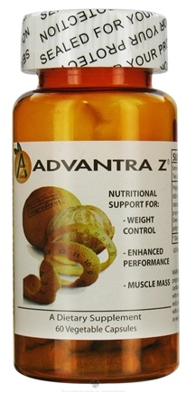 DROPPED: Global Healthcare - Advantra Z Bitter Orange - 60 Vegetarian Capsules