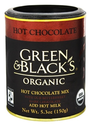 DROPPED: Green & Black's Organic - Hot Chocolate Drink With Bittersweet Dark Chocolate - 5.3 oz.