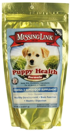 DROPPED: Designing Health - The Missing Link Puppy Health Formula - 8 oz. CLEARANCE PRICED