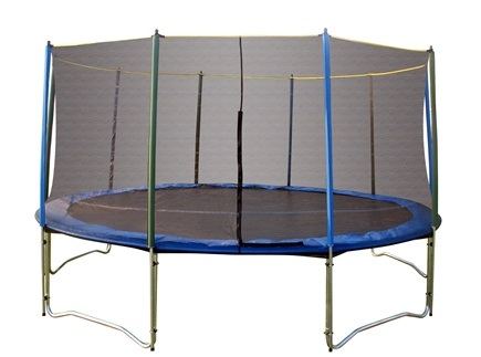 DROPPED: Pure Fun Trampolines - Trampoline Set with Enclosure and Safety Net 9015TS - 15 ft.