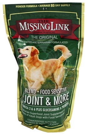 DROPPED: Designing Health - The Missing Link Plus Well Blend with Joint Support For Dogs - 16 oz.