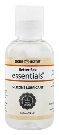 Sinclair Institute - Better Sex Essentials Silicone Lubricant Extra Long Lasting Premium Grade - 2.5 oz.