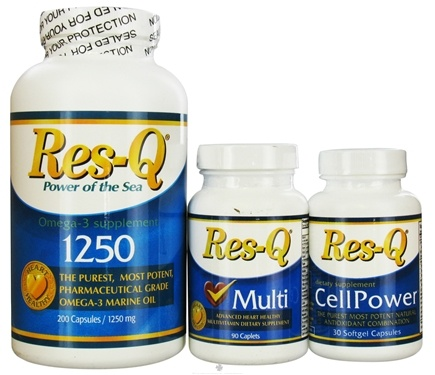 DROPPED: Res-Q - General and Heart Healthy Kit: Res-Q 1250, Res-Q Multi and Res-Q Cell Power