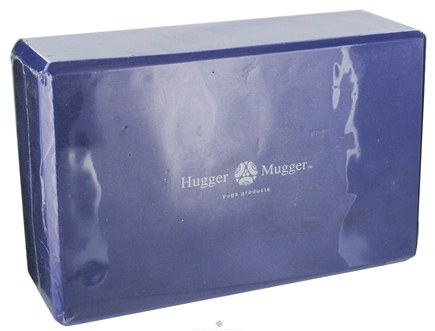 DROPPED: Hugger Mugger Yoga Products - Foam Block Purple - 3 in. CLEARANCE PRICED