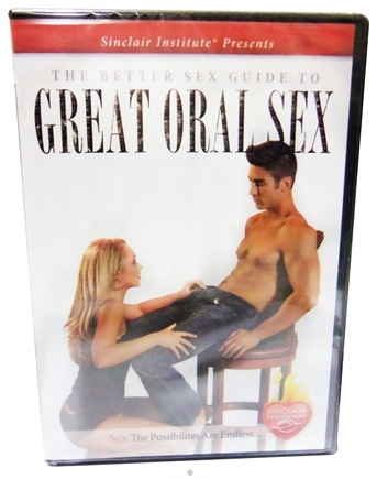 DROPPED: Sinclair Institute - Better Sex Guide To Great Oral Sex - 1 DVD(s)