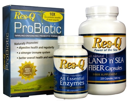DROPPED: Res-Q - Digestion Kit: Res-Q Land 'n' Sea, Res-Q Probiotic & Res-Q All Essential Enzyme