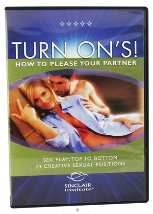 DROPPED: Sinclair Institute - Better Sex Turn On's How To Please Your Partner Volume 1 - 1 DVD(s) CLEARANCE PRICED