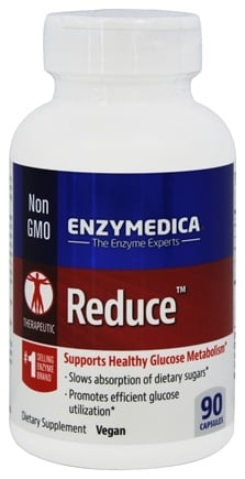 DROPPED: Enzymedica - Reduce - 90 Capsules