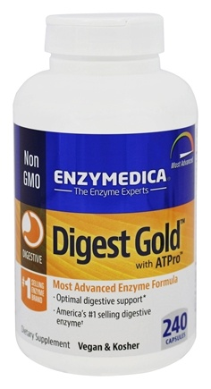 Enzymedica - Digest Gold with ATPro - 240 Capsules