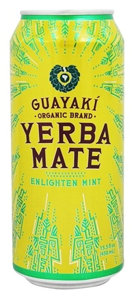 Guayaki - Organic Yerba Mate Enlighten Mint - 15.5 oz.