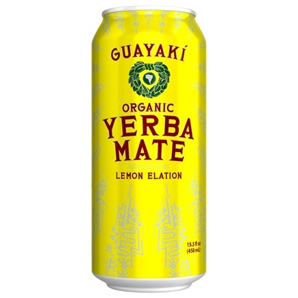 DROPPED: Guayaki - Yerba Mate Lemon Elation - 16 oz.