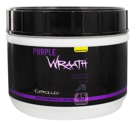 DROPPED: Controlled Labs - Purple Wraath Ergogenic Essential Amino Acid Matrix Juicy Grape Flavor - 1.2 lbs. CLEARANCE PRICED