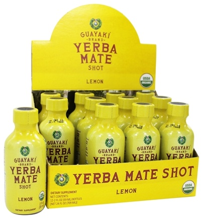 Guayaki - Organic Energy Shot Lemon - 2 oz.