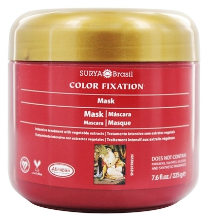 Surya Brasil - Henna Color Fixation Intensive Treatment Restorative Mask - 7.6 oz.