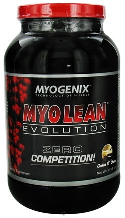 DROPPED: Myogenix - Myo Lean Evolution Cookies N' Cream - 2.38 lbs. CLEARANCE PRICED
