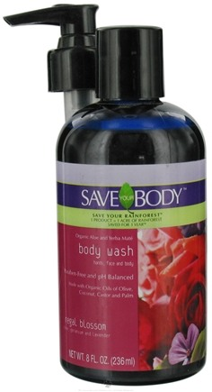 DROPPED: Save Your World - Save Your Body Body Wash Regal Blossom - 8 oz. CLEARANCE PRICED