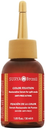 DROPPED: Surya Brasil - Henna Color Fixation Intensive Treatment Restorative Serum For Split Ends - 1.05 oz.