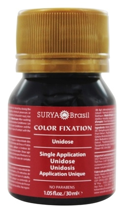 Surya Brasil - Henna Color Fixation Intensive Treatment Single Application - 1.05 oz.