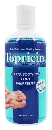 Topical BioMedics - Topricin Foot Therapy Cream - 8 oz.