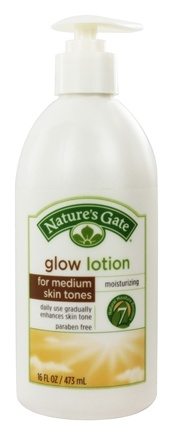 DROPPED: Nature's Gate - Glow Lotion for Medium Skin Tones - 16 oz.