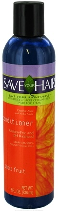 DROPPED: Save Your World - Save Your Hair Conditioner Oasis Fruit - 8 oz.