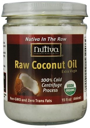 DROPPED: Nutiva - Organic Raw Coconut Oil Extra Virgin - 15 oz.