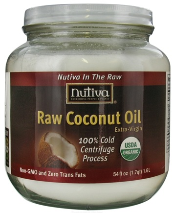 DROPPED: Nutiva - Organic Raw Coconut Oil Extra Virgin - 54 oz.