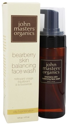 John Masters Organics - Face Wash For Oily Skin Balancing Bearberry - 4 oz.