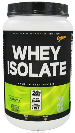 DROPPED: Cytosport - Whey Isolate Premium Whey Protein Sour Apple - 32 oz. CLEARANCE PRICED