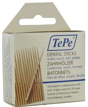 DROPPED: TePe Oral Health Care - Dental Sticks Linden Medium - 125 Stick(s) CLEARANCE PRICED