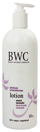 Beauty Without Cruelty - Lotion Hand & Body Treatment Sweet Lavender - 16 oz.