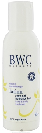 DROPPED: Beauty Without Cruelty - Lotion Hand & Body Treatment Extra Rich Travel Size Fragrance Free - 2 oz. CLEARANCE PRICED