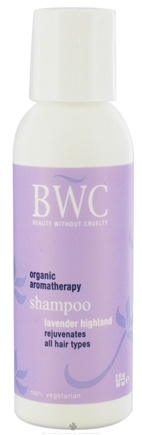 DROPPED: Beauty Without Cruelty - Shampoo Rejuvenating For All Hair Types Travel Size Lavender Highland - 2 oz.