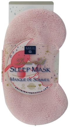 DROPPED: Earth Therapeutics - Dream Silk Sleep Mask Pink - CLEARANCE PRICED