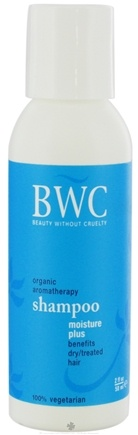 DROPPED: Beauty Without Cruelty - Shampoo Moisture Plus For Dry Treated Hair Travel Size - 2 oz. CLEARANCE PRICED