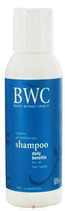 DROPPED: Beauty Without Cruelty - Shampoo Daily Benefits For All Hair Types Travel Size - 2 oz.