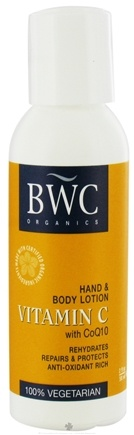 DROPPED: Beauty Without Cruelty - Vitamin C Hand & Body Lotion With CoQ10 Travel Size - 2 oz.