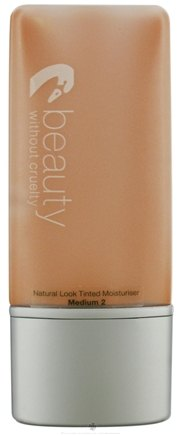DROPPED: Beauty Without Cruelty - Natural Look Tinted Moisturizer Medium 2 - 1.1 oz. CLEARANCE PRICED