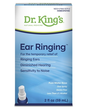 King Bio - Homeopathic Natural Medicine Ear Ringing - 2 oz.