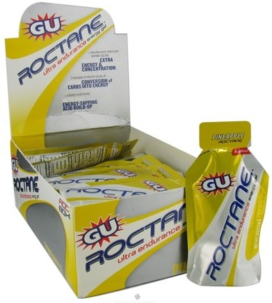 DROPPED: GU Energy - Roctane Ultra Endurance Energy Gel Pineapple - 24 Packet(s)